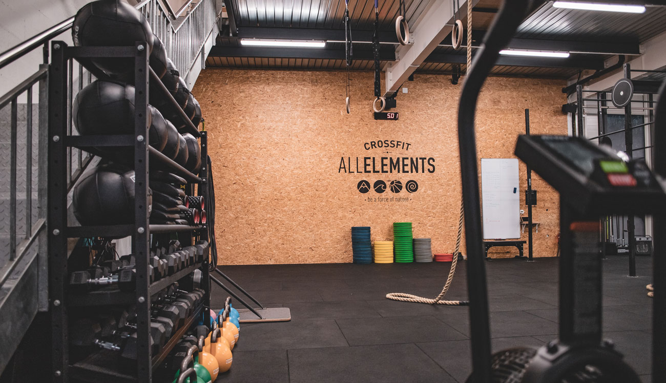 Crossfit AllElements - Be a force of nature - Gland - Rolle