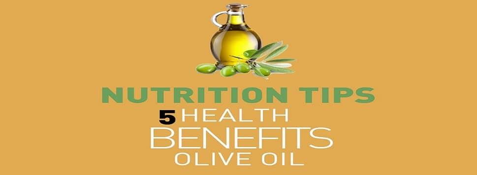 5 bienfaits de l'huile d'olive sur la santé
