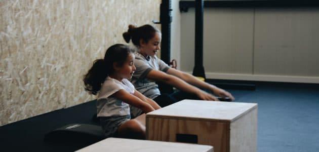 les enfants au CrossFit