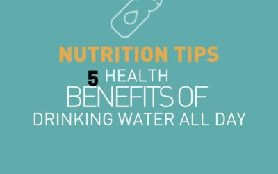 5 health benefits of drinking water all day