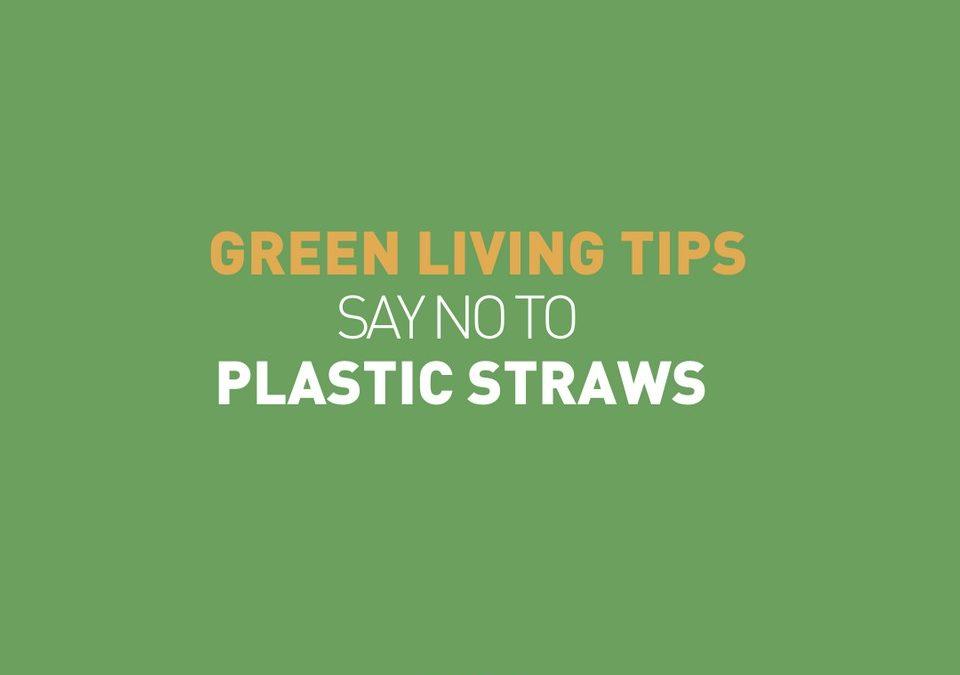 Non aux pailles en plastique