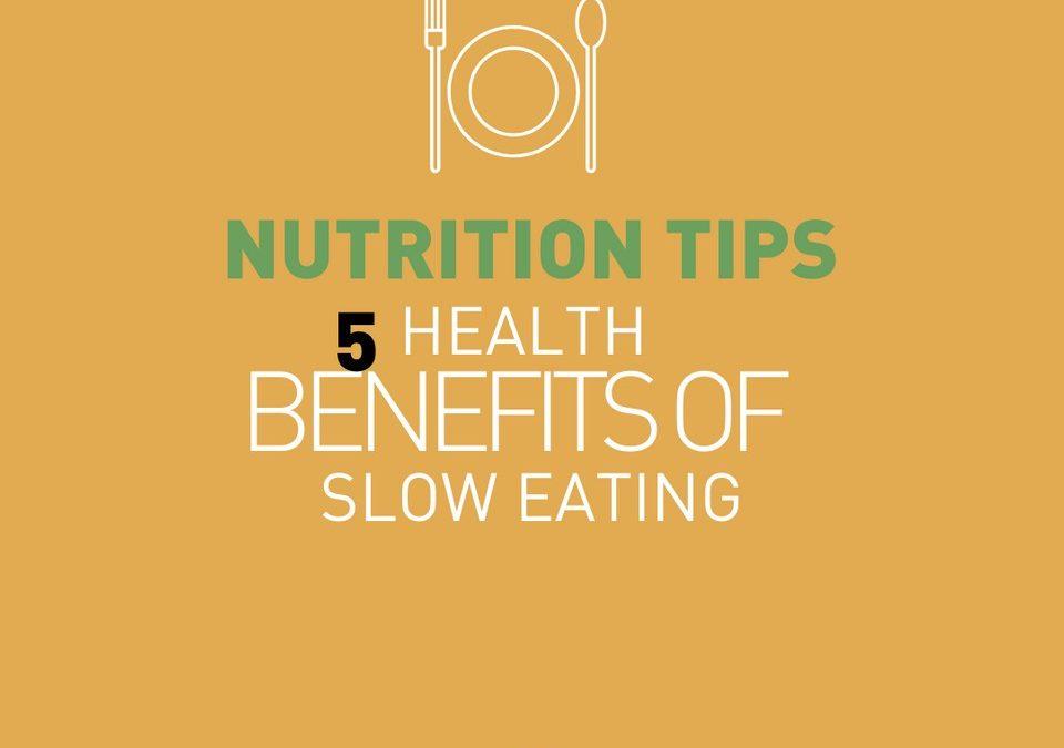 5 avantages d'une alimentation lente