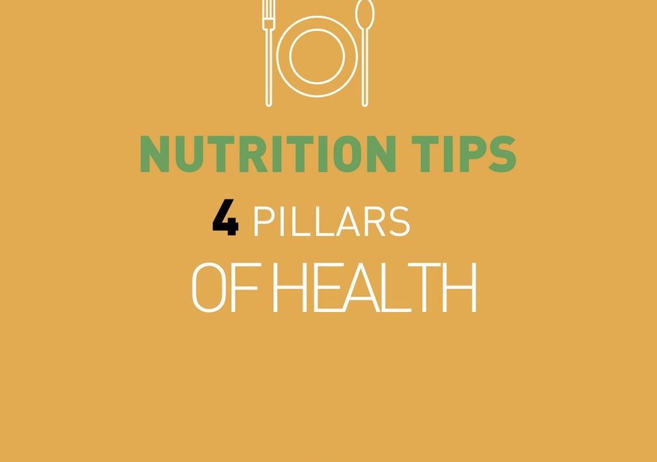 Les 4 piliers de la santé