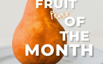 Fruit of the Month: la poire