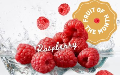 Fruit of the Month : les framboises