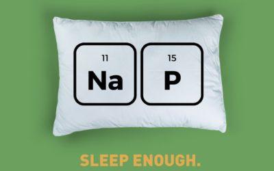 Sleep enough!